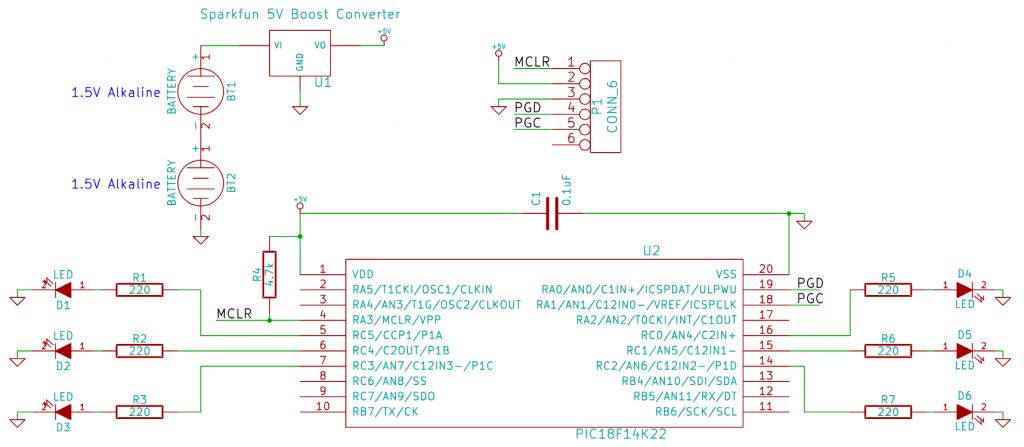 Halloween LED Schematic