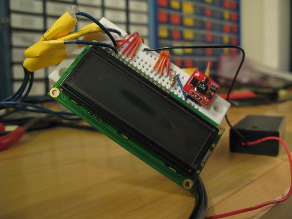 Display breadboard.